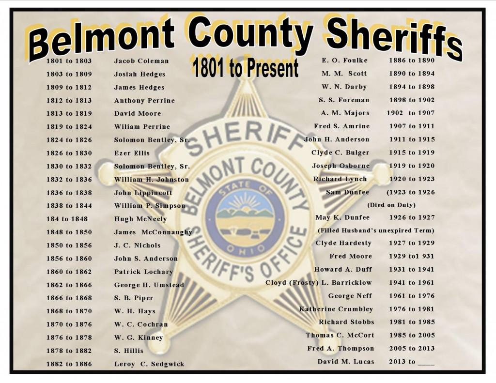 Sheriff History